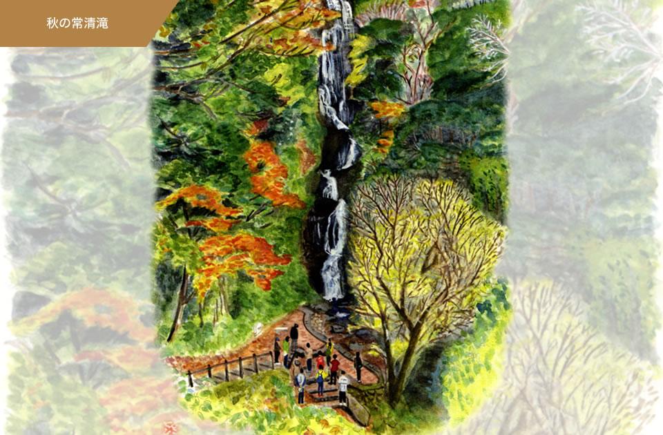 秋の常清滝